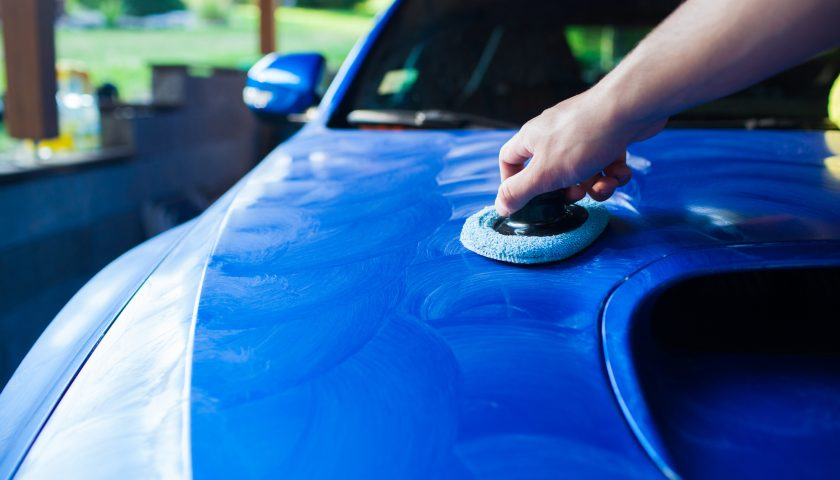 diy car waxing