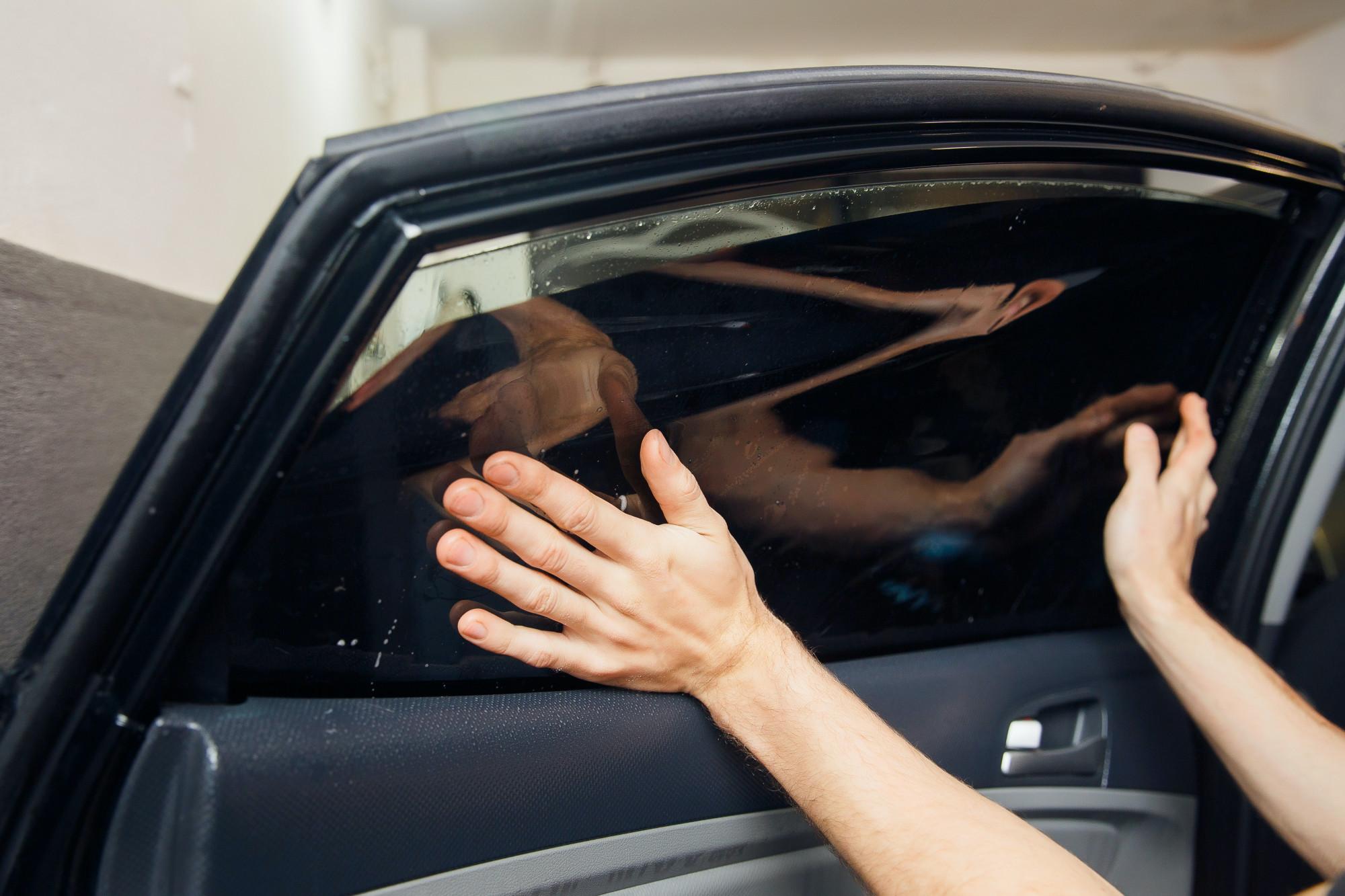 Tinting Car Windows